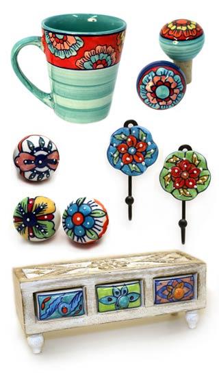 Keramik deko deko gro handel gall zick deko for Ausgefallene dekoartikel
